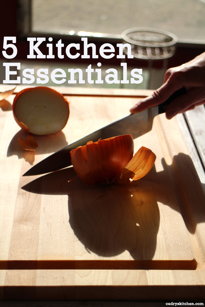 5 Kitchen Tool Essentials + 1 That's Just Fun to Have