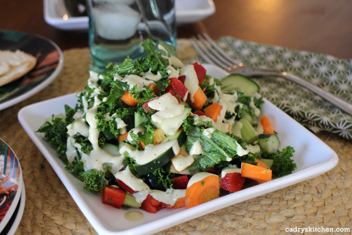 Creamy Cashew Dressing + 5 keys to making a salad you will love to eat