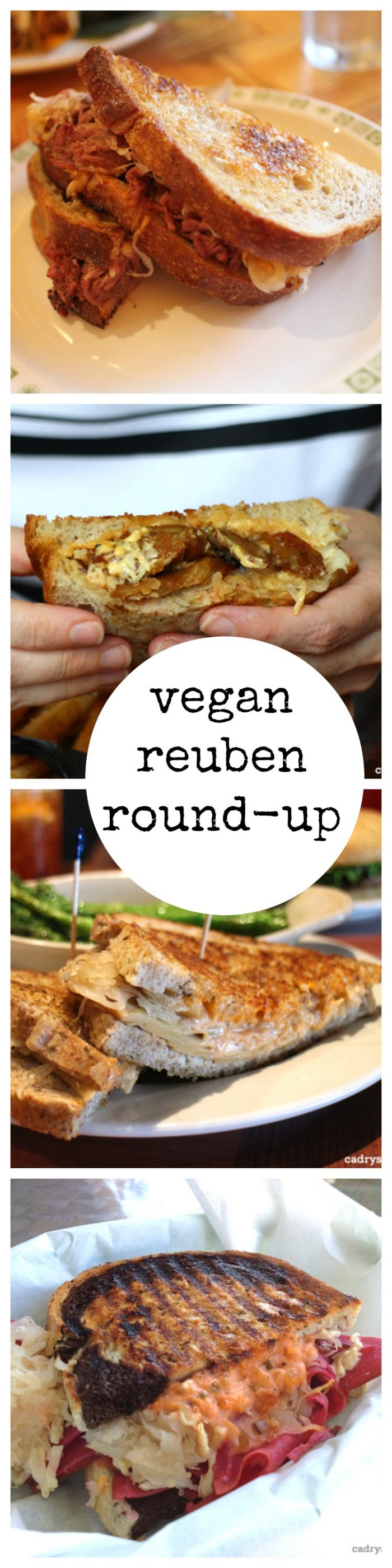 Vegan reuben round-up: 13 vegan reubens across the United States that you need to try | cadryskitchen.com