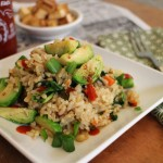 Brussels Sprout Fried Rice + Vegan with a Vengeance