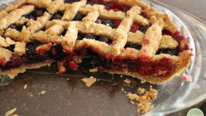 Summer food highlights - mulberry pie & more | cadryskitchen.com