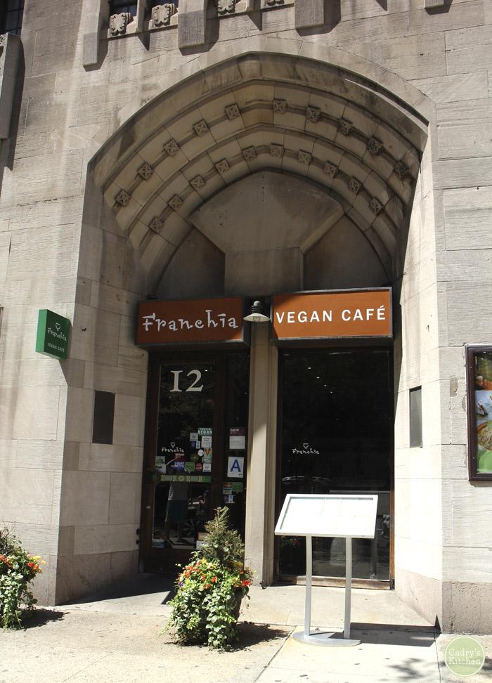 Vegan in New York: Franchia Vegan Cafe & More   cadryskitchen.com #vegan #travel #nyc
