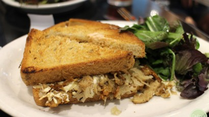 Vegan in Brooklyn: Champs Diner | cadryskitchen.com #vegan #travel