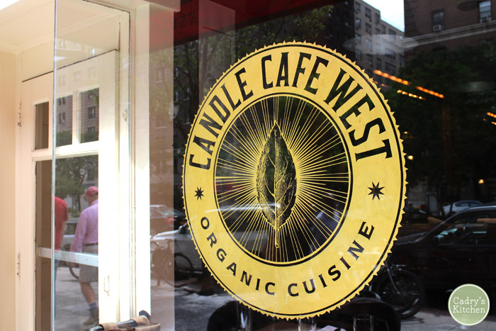Vegan In New York: Candle Cafe West & Peacefood Cafe | cadryskitchen.com #vegan #newyork #travel