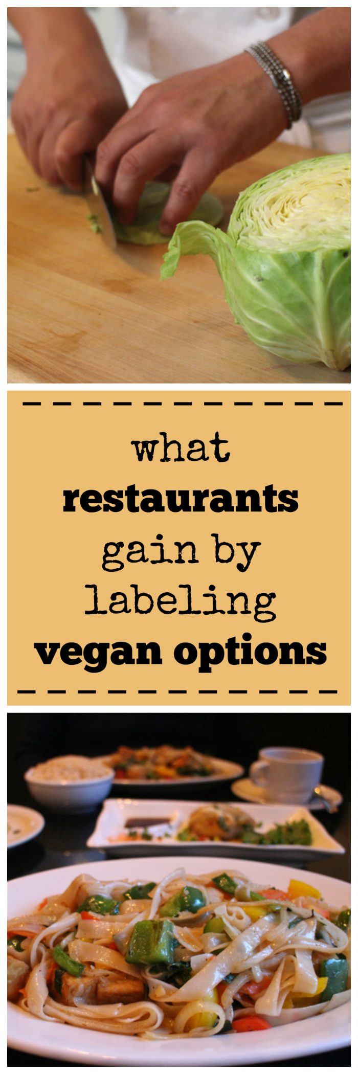 What do restaurants gain by labeling vegan options? | cadryskitchen.com