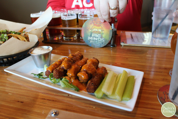 Pig Minds Brewing Company - an all-vegan brewery in Illinois | cadryskitchen.com #vegan #travel #illinois