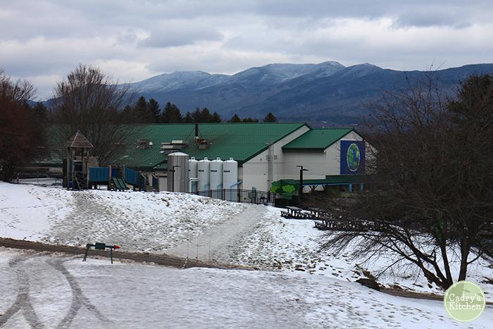 Exterior Ben & Jerry's factor in Vermont.