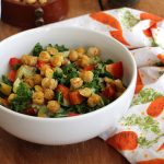 Video: Crave-worthy kale salad & roasted chickpeas