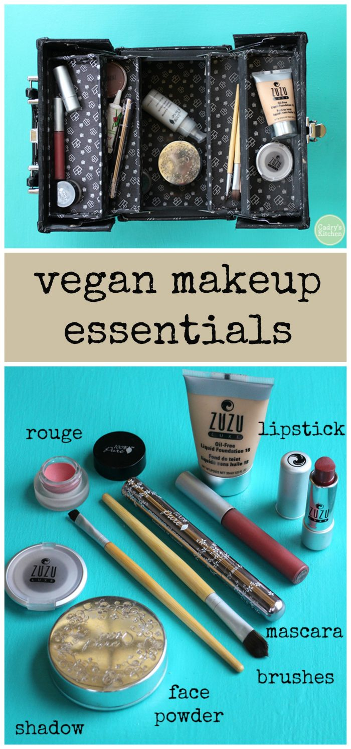 Makeup Essentials Must Haves From Makeup Artists Part 1: My Vegan Makeup Essentials