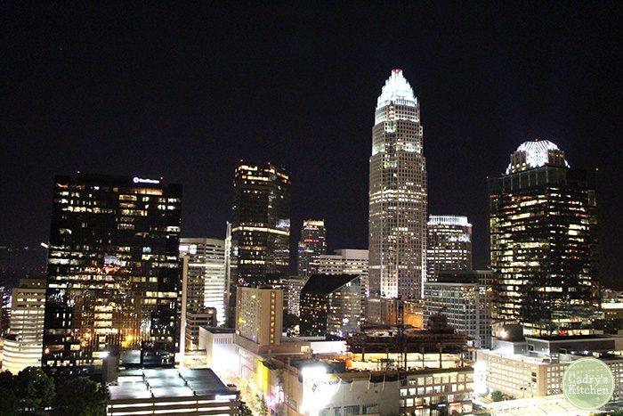 Charlotte, North Carolina skyline | cadryskitchen.com