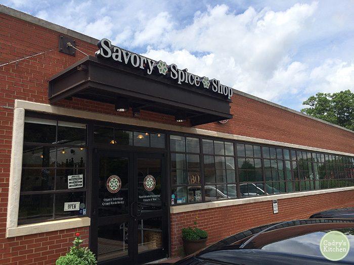 Exterior Savory Spice Shop in Charlotte, North Carolina
