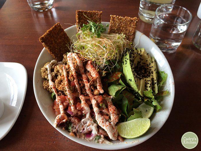 Raw vegan fare at Luna's Living Kitchen in Charlotte, North Carolina | cadryskitchen.com