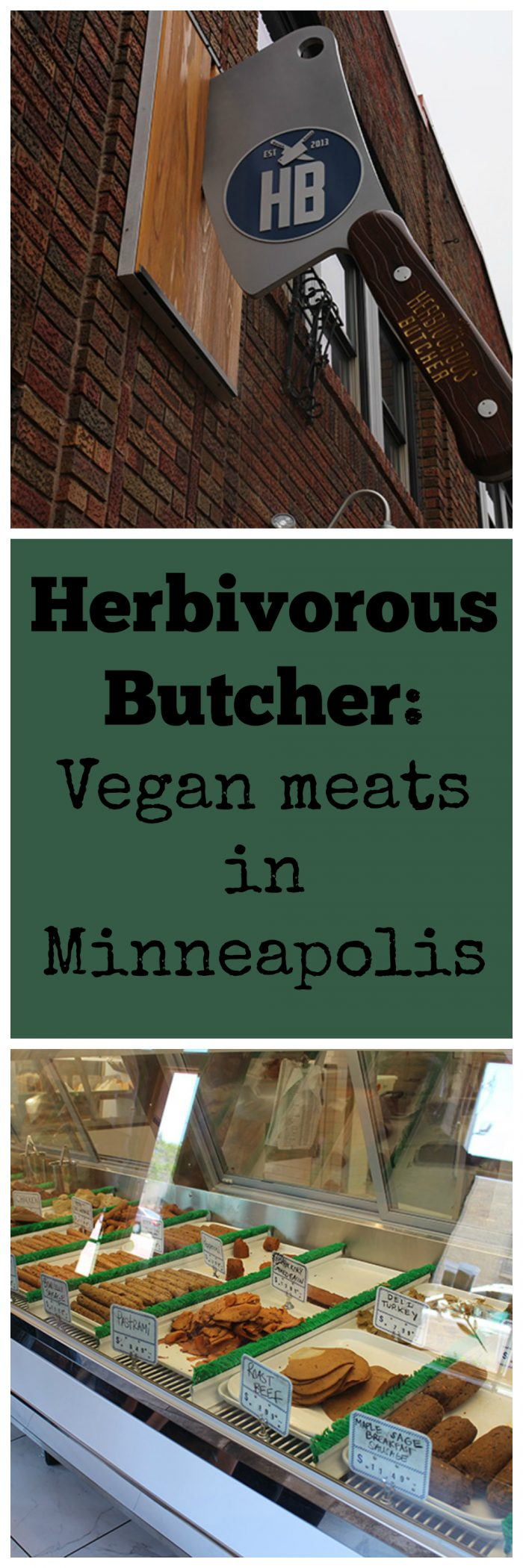 Herbivorous Butcher in Minneapolis sells a variety of plant-based meats. Expect seitan steaks, ribs, cold cuts, sausages, and plant-based cheeses. | cadryskitchen.com