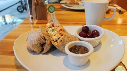 Vegan travel: Breakfasts & sightseeing in Chicago   cadryskitchen.com