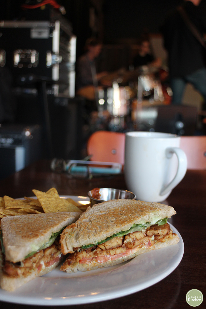 Reverie is a vegan café and bar in Minneapolis. They offer a plant-based menu, a full array of coffee drinks, wine, beer, and cider. | cadryskitchen.com