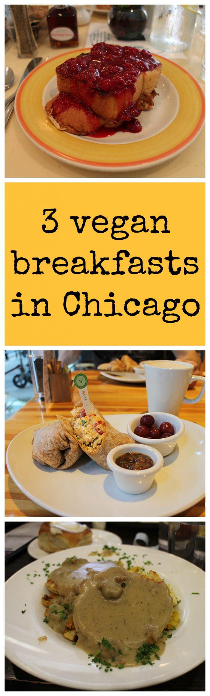 Vegan Travel: 3 vegan breakfasts in Chicago. While in Chicago recently, we visited Cloud Gate, Pritzker Pavilion, Willis Tower, and plenty of vegetarian restaurants. | cadryskitchen.com