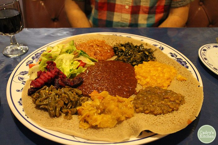 Vegan Ethiopian food at Fasika in the Twin Cities | cadryskitchen.com
