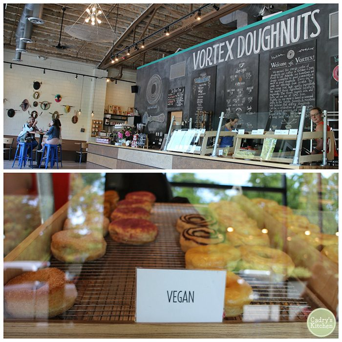 Vegan Travel: 24 hours in Asheville, North Carolina. Come along as I visit Plant, Vortex Doughnuts, Rosetta's Kitchen & more! | cadryskitchen.com