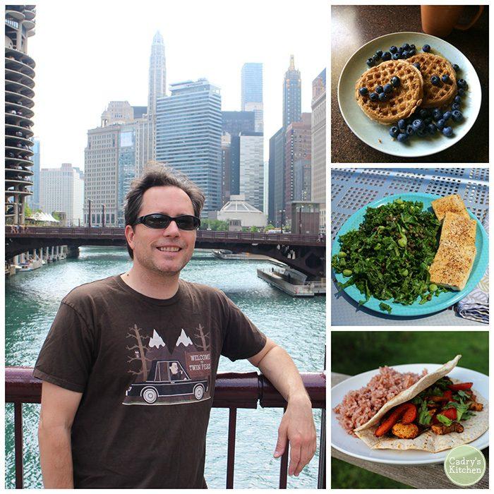 What a vegan guy eats in a day - Breakfast, lunch & dinner | cadryskitchen.com