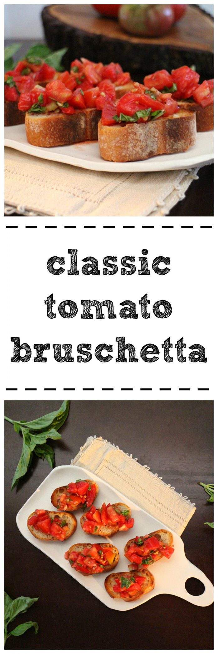 Ripe summer tomatoes have found their calling. Classic tomato bruschetta. There's a reason that it's beloved.   cadryskitchen.com