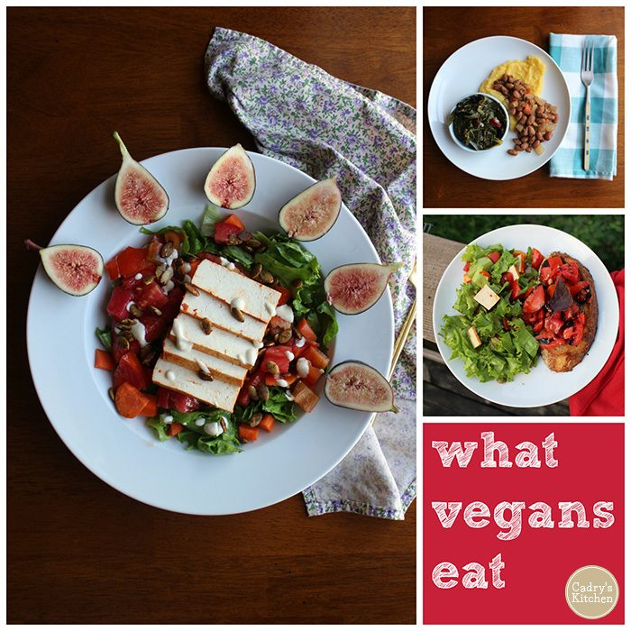 What do vegans eat? Here's breakfast, lunch & dinner from an ordinary day | cadryskitchen.com