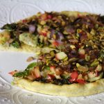 Roasted Brussels Sprouts & Apple Pizza