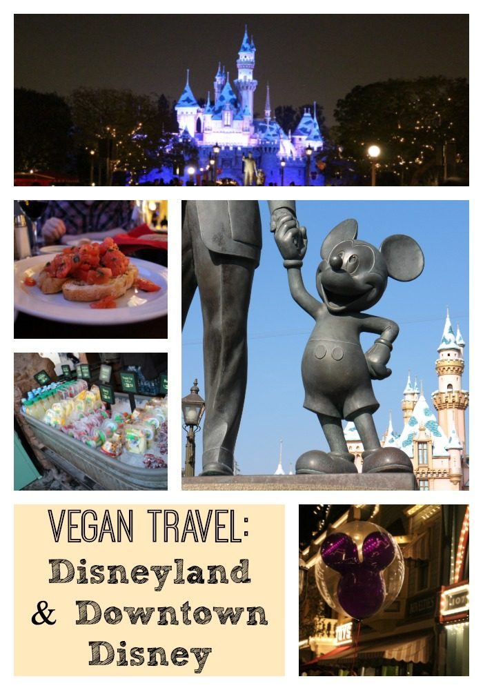 Heading to Disneyland in Anaheim, California? Get the scoop on vegan options in Disneyland, Downtown Disney, and the surrounding area. | cadryskitchen.com