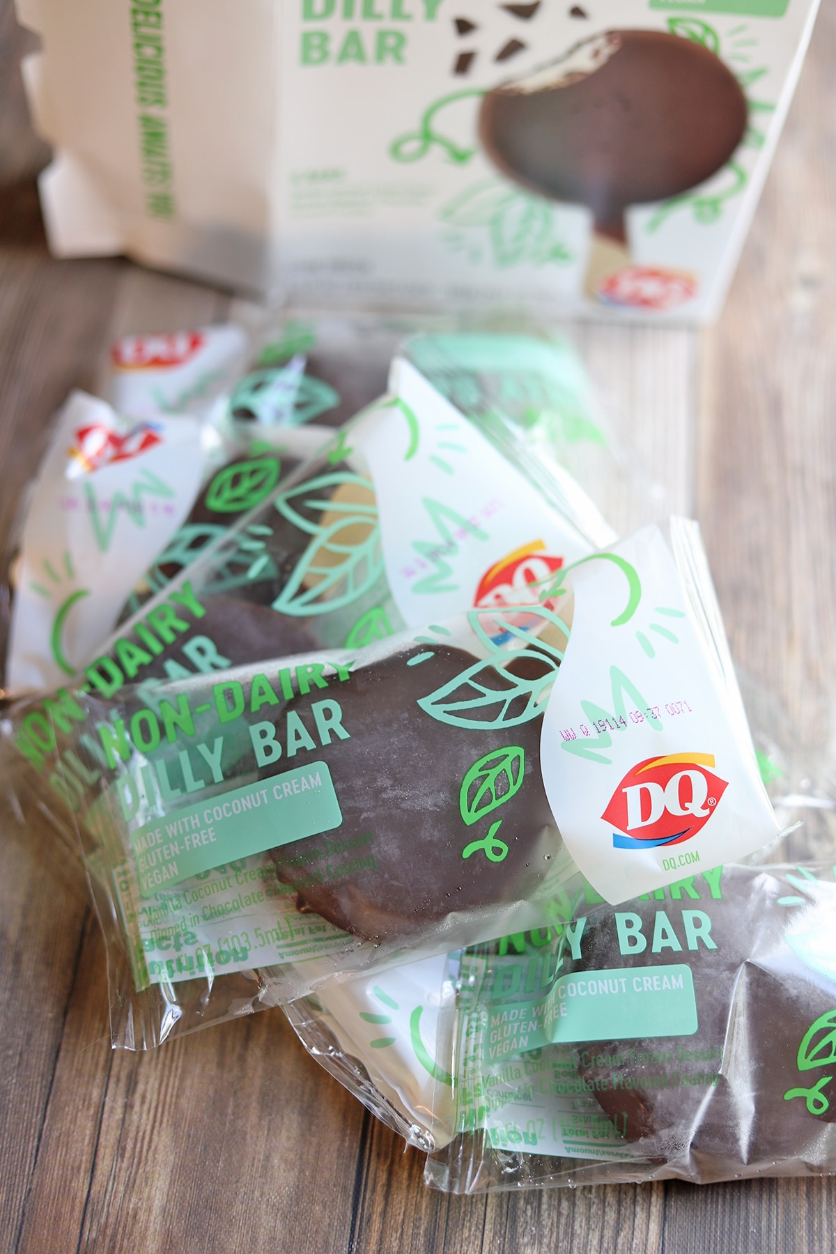 Dilly bars in packaging.