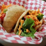 Fried Puffy Tacos – Seitan Chorizo & Black Bean