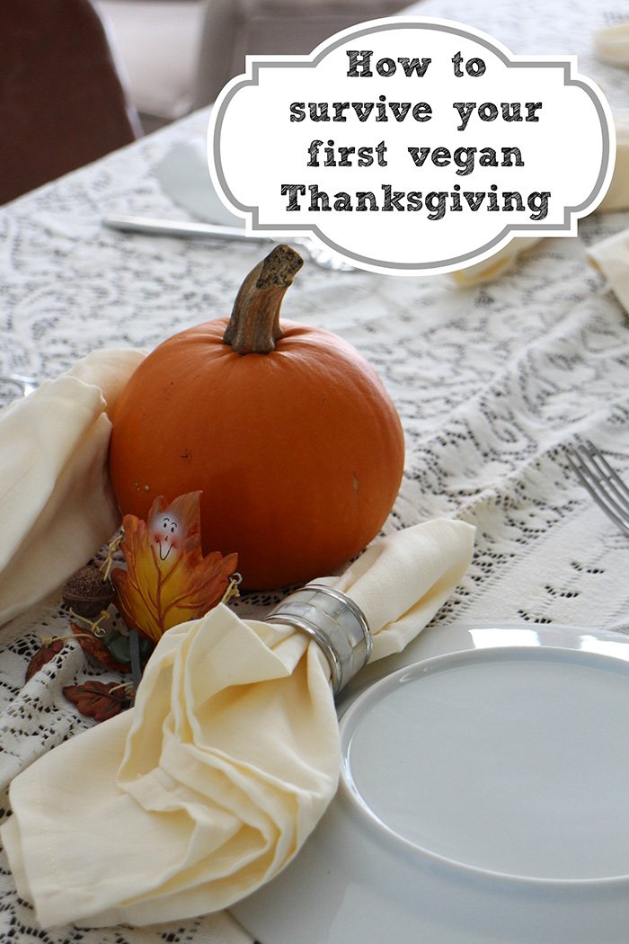 Getting ready for your first vegan Thanksgiving? Here are 12 tips to help get you through the holidays. #vegan #thanksgiving #vegetarian #tips