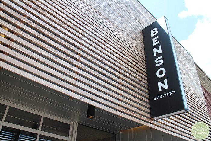 Exterior Benson Brewery in Omaha, Nebraska.
