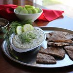 Cucumber dill hummus recipe + Easy Whole Vegan