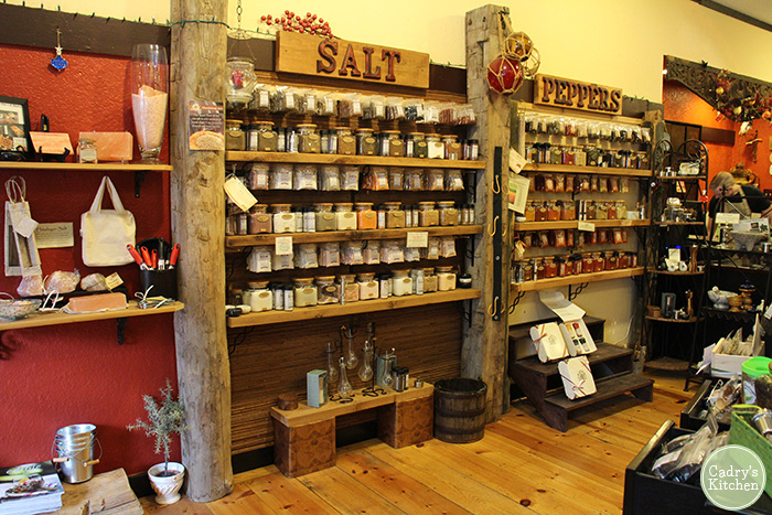 Interior Spice & Tea Exchange.