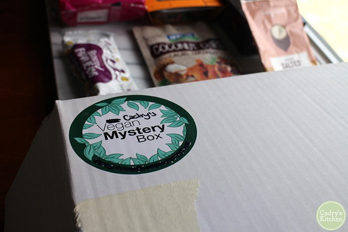 A care package full of vegan treats from Australia | cadryskitchen.com