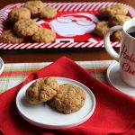 Peanut butter oatmeal cookies (Vegan)