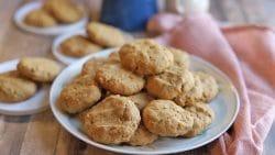 Platter of cookies.