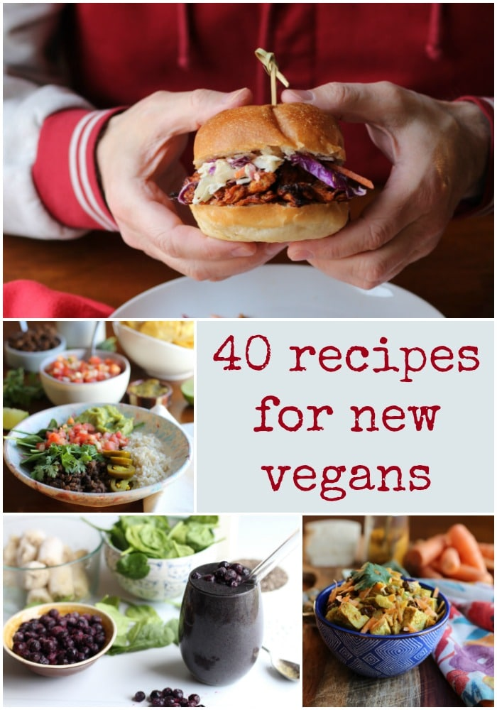 Is this the year you're going vegan? Here are 40 deliciously doable recipes to get you started. | cadryskitchen.com