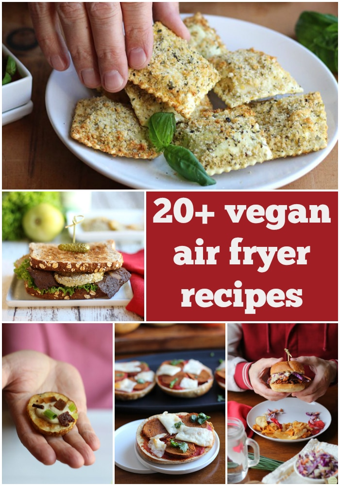 What is an air fryer & do they work? All of your questions about air fryers ANSWERED. Plus, get 20 awesome vegan air fryer recipes that you're going to love. #airfryer #recipes #vegan #vegetarian