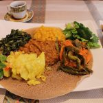 How to eat Ethiopian food + Nile Restaurant in Iowa