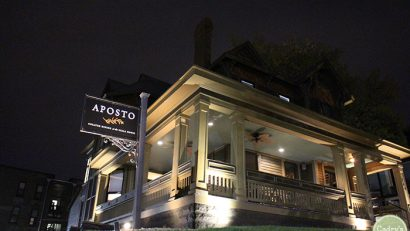 Vegan prix fixe dinner at Aposto at the Scala House in Des Moines, Iowa | cadryskitchen.com