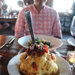 Whole cauliflower with Calabrian chiles at Rapid Creek Cidery.