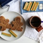 Dr. Who Party:  Peanut Butter & Jelly Baby Sandwiches