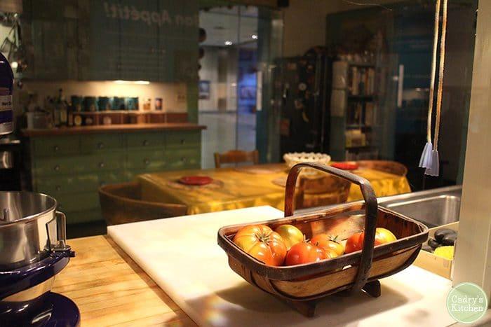 Julia Child's kitchen in Smithsonian.