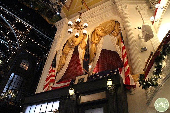 Presidential box at Ford's Theatre in Washington, D.C.