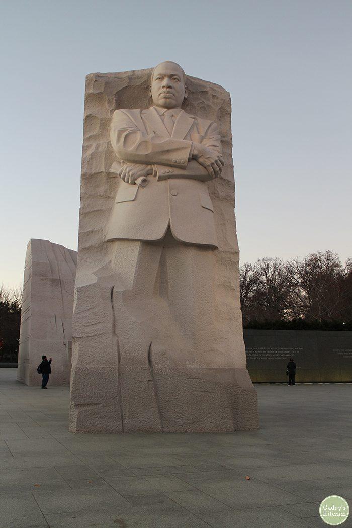 Washington DC travel. Martin Luther King, Jr. memorial in Washington, D.C.
