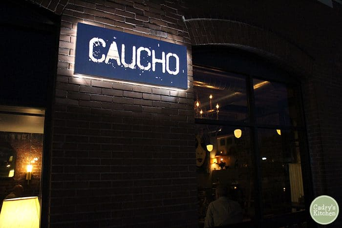 Exterior Caucho in Cedar Rapids, Iowa.