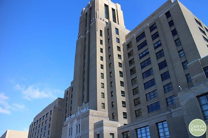 Exterior Midtown Exchange Building in Minneapolis, Minnesota.