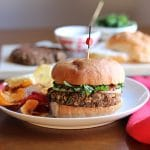 Ultimate meatball burger (Vegan lentil burgers)