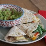 Denver Omelette Quesadilla: Vegan Breakfast