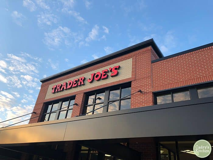 Trader Joe's exterior in Coralville, Iowa.
